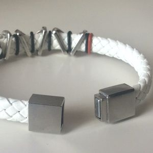 Guess Jewelry - Guess leather bracelet